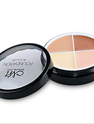 cheap -4 Pro Face Concealer Primer Cream Contour Palette Kit Make Up Cover Facial Contouring Makeup Palettes Corrector Base Foundation