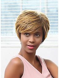 новый образец пушистый смешанный цвет парик человеческих волос