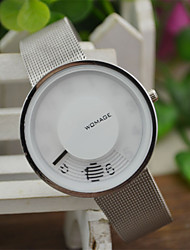 Women's Fashion Watch Unique Creative Watch Quartz / Alloy Band Casual White