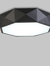 cheap -Flush Mount ,  Modern/Contemporary Traditional/Classic Painting Feature for LED MetalLiving Room Bedroom Study Room/Office Kids Room