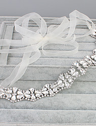 cheap -Crystal Rhinestone Headbands 1 Wedding Special Occasion Casual Office & Career Outdoor Headpiece