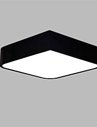 Square 36cm Modern Style 24W Simplicity LED Ceiling Lamp Flush Mount Light Fixture