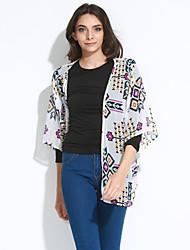 Women's Casual/Daily Casual Summer Fall Kimono Jacket
