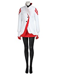 Inspired by Assassin Ace Video Game Cosplay Costumes Cosplay Suits Cosplay Tops/Bottoms Solid Coat Top Gloves Stockings
