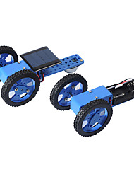 cheap -Crab Kingdom Electric Toy Car a Variety of Specifications DIY Technology Production Model Hand-Assembled Toys 58 (Solar Version)