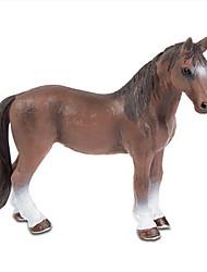 preiswerte -Pferd Ausstellungsfiguren Tiere Simulation Klassisch & Zeitlos Schick & Modern Polycarbonat Kunststoff Mädchen Jungen Geschenk 1pcs
