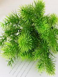 cheap -1pc Branch Plastic Plants Tabletop Flower Artificial Flowers Plants