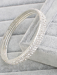 Bracelet Bangles Rhinestone Others Fashion Wedding Party Special Occasion Jewelry Gift White,1pc