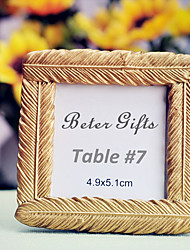 cheap -Mini Resin Photo Frame / Place Card 8 x 8 x 1.5cm Beter Gifts® Table Decoration