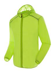 Недорогие -Универсальные Куртка для туризма и прогулок на открытом воздухе Весна Лето С защитой от ветра Водонепроницаемость Дышащий Быстровысыхающий Устойчивость к УФ Удобный Защита от солнечных лучей