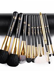 msq® 11black vlna makeup kartáč sada