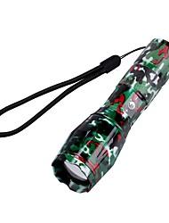 U'King LED Lommelygter LED 2000 lm 5 Tilstand Cree XM-L T6 Zoombar Justerbart Fokus Camping/Vandring/Grotte Udforskning Dagligdags Brug
