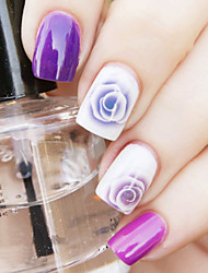 Nail Water Decals Sticker Transfer Sticker Charming Fantastic Rose Pattern