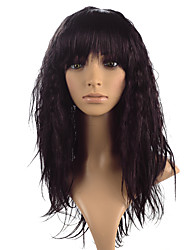 cheap -Synthetic Wig Kinky Curly Red Women's Capless Carnival Wig Halloween Wig Natural Wigs Long Synthetic Hair