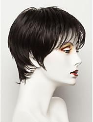 MAYSU perfeitos cabelo curto elegante macias múltiplas opções de cor do cabelo humano peruca