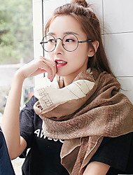 cheap -New Korean Version Of Shawl Double With Long Female National Style Jacquard Cotton Shawl