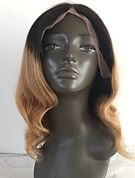 T1B/4/27 Ombre Blonde Deep Wave Human Hair Wigs Glueless Full Lace Virgin Hair Wigs For Black Woman High Density Wholesale