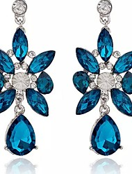 cheap -Drop Earrings Crystal Crystal Alloy Jewelry Party Daily Casual Costume Jewelry