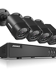 ANNKE® 1080N TVI H.264 4CH DVR 1500TVL 720P In/Outdoor IR Security Camera System N41R