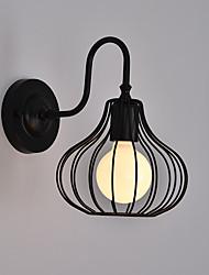preiswerte -Rustikal/ Ländlich Traditionell-Klassisch Wandlampen Für Metall Wandleuchte 220v 110V 60W