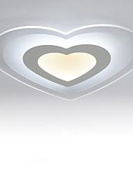preiswerte -Modern/Zeitgenössisch LED Unterputz Raumbeleuchtung Für Wohnzimmer Schlafzimmer Küche Esszimmer Studierzimmer/Büro Gelb Weiß 220-240V 1600