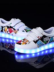 Da ragazzo-Sneakers-Tempo libero Casual Sportivo-Comoda Light Up Shoes-Piatto-PU (Poliuretano)