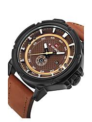 cheap -Men's Sport Watch Dress Watch Skeleton Watch Fashion Watch Wrist watch Mechanical Watch Quartz Genuine Leather Band Charm Casual Luxury