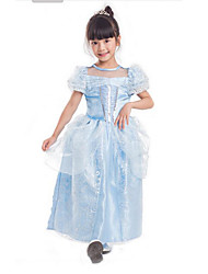 Princess Cinderella Cosplay Costumes Party Costume Kid Halloween Christmas Carnival Children's Day Festival/Holiday Halloween Costumes