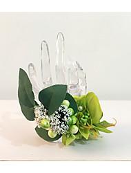 """levne -Svatební kytice Živůtek na zápěstí Svatební Večírek sušené květiny 17 cm (cca 6,69"""")"""