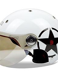 Недорогие -Веон б-103 мотоцикл летний шлем половина шлем Харли шлем анти-туман анти-УФ шлем безопасности однополой моды