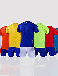 cheap -Men's Soccer Shirt+Shorts / Bottoms / Clothing Suit Breathable Spring / Summer / Fall Classic / Fashion 100% Polyester Football / Soccer / Stretchy