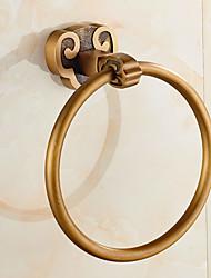 Portasciugamani ad anello Contemporaneo Acciaio inossidabile 16.5CM Portasciugamani ad anello Montaggio a muro