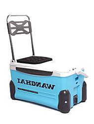 Недорогие -Коробка для рыболовной снасти Платформа для рыбалки Водонепроницаемый пластик 60 cm*49 см*35 cm / Обычная рыбалка