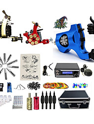 cheap -Professional Tattoo Kit 1 rotary machine liner & shader 2 alloy machine liner & shader 3 Tattoo Machine Inks Not Included