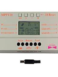Недорогие -у-солнечный 30а Дисплей LCD солнечной контроллер заряда 12v 24v автоматическое переключение m30