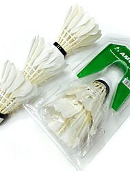 3pçs Badminton Raquetes de Badminton volantes Á Prova-de-Água Durabilidade para Interior Ao ar Livre Espetáculo Praticar Esportes de Lazer