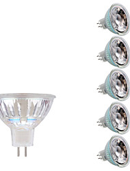 billiga -GMY® 6pcs 3W 250lm GU5.3(MR16) LED-spotlights MR16 1 LED-pärlor COB Varmvit Kallvit 12V