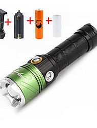 U'King LED Flashlights/Torch Flashlight Kits LED 2000 Lumens 3 Mode Cree XM-L T6 Yes Adjustable Focus Counterfeit Detector Dimmable for