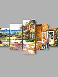 HD Print Garden landscape painting picture poster modern wall art For Home Decoration (No Frame)