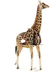 Недорогие -3D пазлы Пазлы Игрушки Динозавр Олень 3D Животные 1 Куски