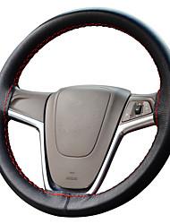 abordables -autoyouth cuir micro fibre couverture volant de voiture universel en forme diy couverture accessoire intérieur de la voiture de coiffure