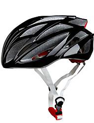 Sport Unisex Fahhrad Helm 21 Öffnungen Radsport Radsport Bergradfahren Straßenradfahren Freizeit-Radfahren Wandern Klettern PC EPSWeiß