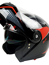 gxt full face street motocicleta capacete antifog respirável abs velocidade competindo capacetes com óculos