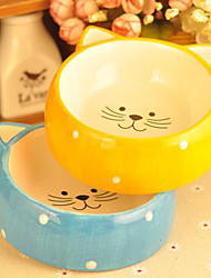 Dog Food Bowl Lovely Cat Bowl Cat Food Bowl Dog Cartoon Ceramic Bowl