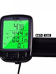 cheap -Cycling/Bike Computer Waterdichte  Lcd Backlight Av - Average Speed Odo - Odometer Backlight Tme - Lapsed Time SPD - Current