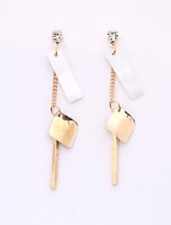 cheap -The European And American Fashion Jewelry Wholesale Irregular Fashion Earrings Creative Shells Long Eardrop Female