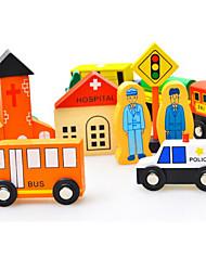 Недорогие -Игрушки Поезд Игрушки Оригинальные Углеродное волокно Мультяшная тематика 1 Куски Мальчики Девочки День детей Подарок