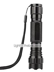 preiswerte -U'King LED Taschenlampen LED lm 1 Modus Cree XP-E R2 Camping / Wandern / Erkundungen Für den täglichen Einsatz Natur