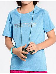 preiswerte -Unisex T-Shirt für Wanderer Rasche Trocknung Leicht Oberteile für Freizeit Sport Sommer M L XL