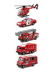 Недорогие -Playsets автомобиля Пожарная машина Автомобиль Вертолет Классический и неустаревающий Изысканный и современный Мальчики Девочки Игрушки Подарок